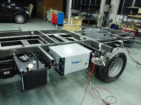 Stager YGE3500Vi Generator digital invertor monofazat, 3kW, benzina, pornire electrica, autorulote [1]