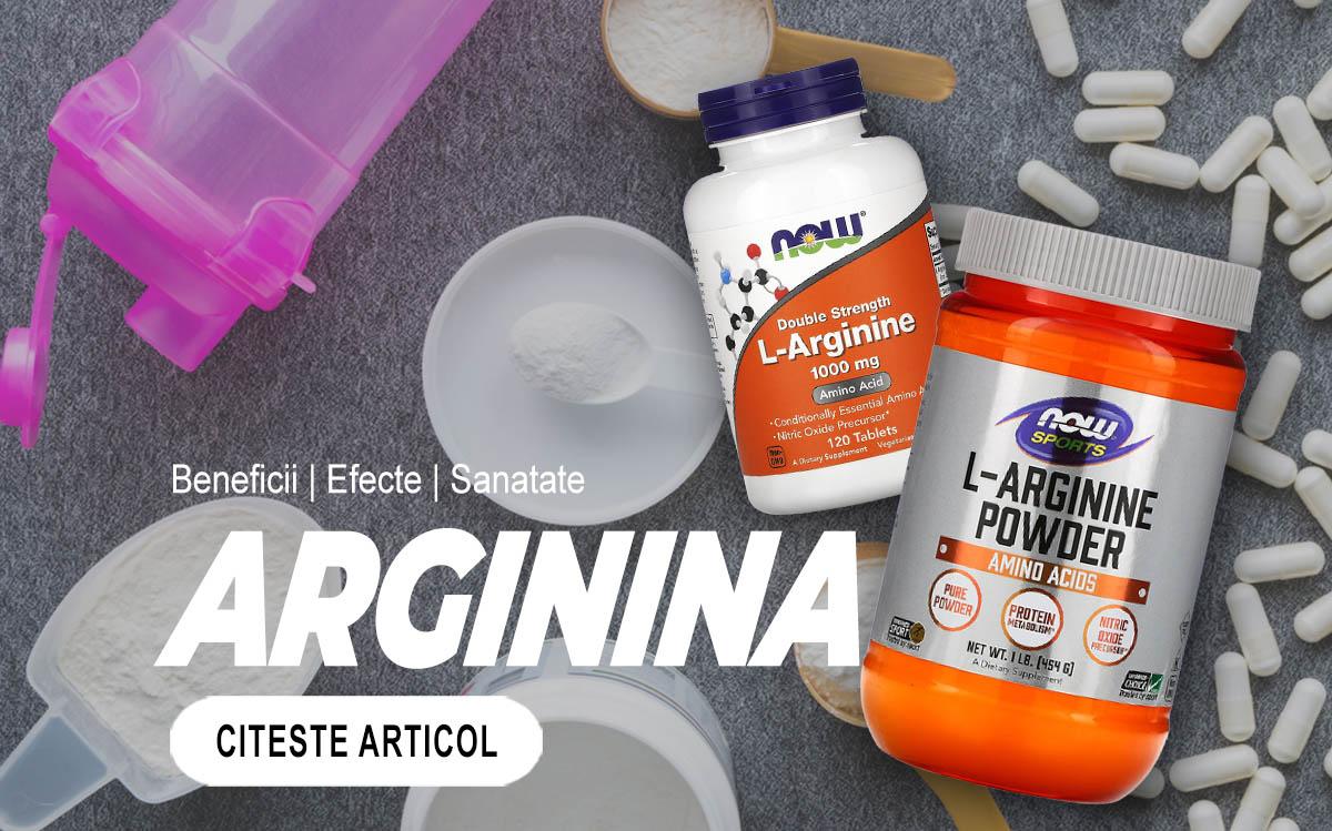 L-ARGININA - Efecte benefice pentru sanatate