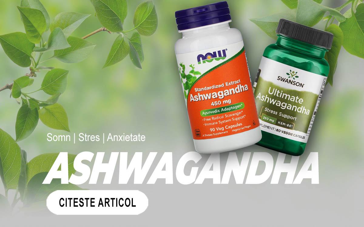 ASHWAGANDHA - Tot ce trebuie sa stii despre acest supliment