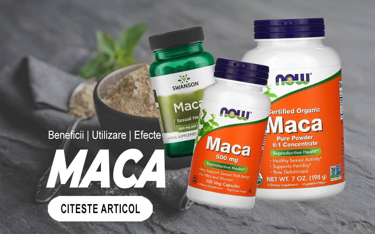 MACA - Beneficiile celui mai puternic afrodisiac natural