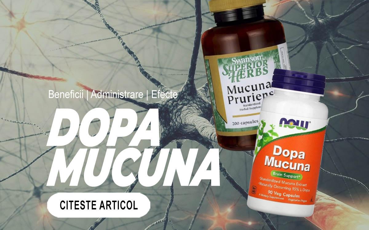 DOPA MUCUNA - Suplimentul pentru productivitate care stimulează starea de spirit si trateaza boala Parkinson