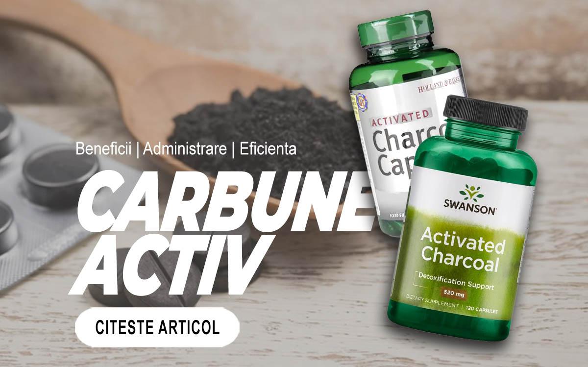CARBUNE ACTIV - cum il poti folosi cel mai eficient?
