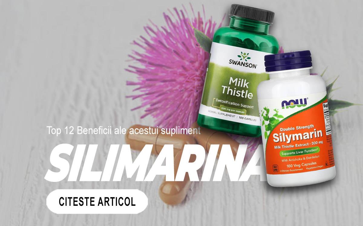SILIMARINA - Top 12 Beneficii ale acestui supliment