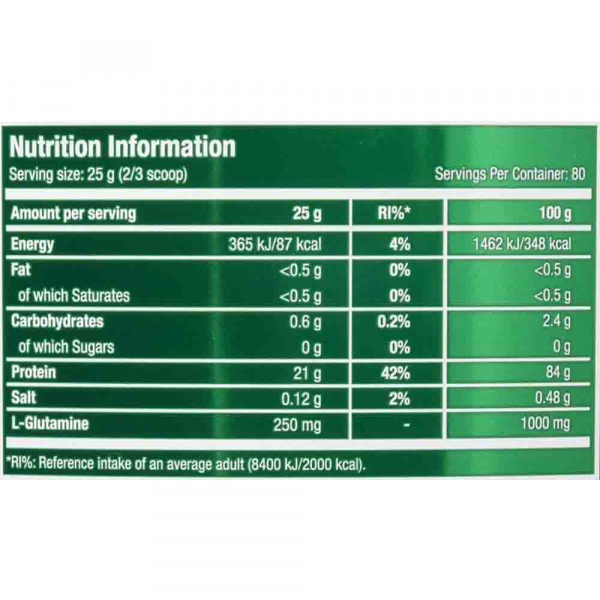 Scitec Nutrition 100% Whey Isolate 2000g [3]