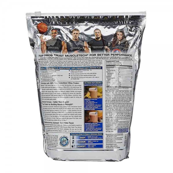 100% Whey Protein Premium Plus, Muscletech, 2720g [1]