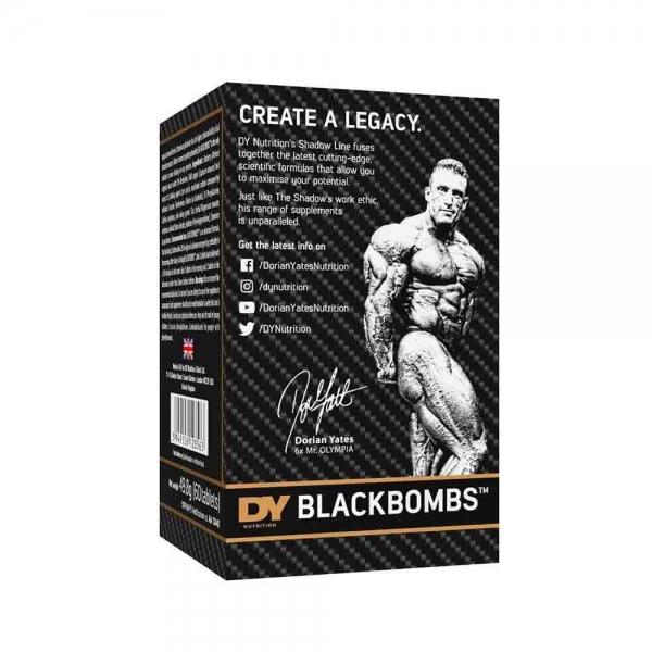 Black Bombs Fat Burner, Dorian Yates, 60 tablete [2]