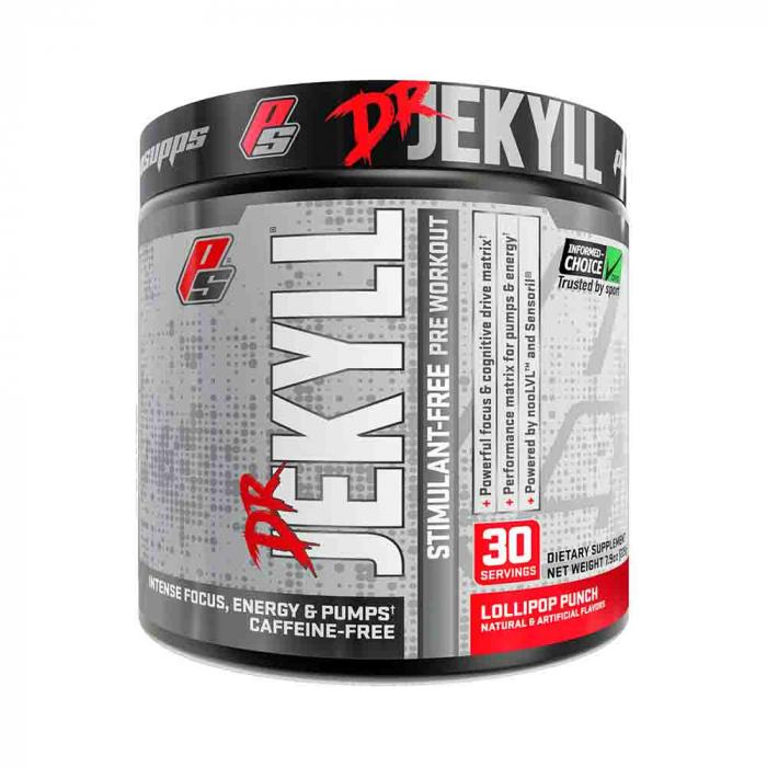 Dr. Jekyll Pre-Workout fara cafeina, ProSupps, 255g [0]
