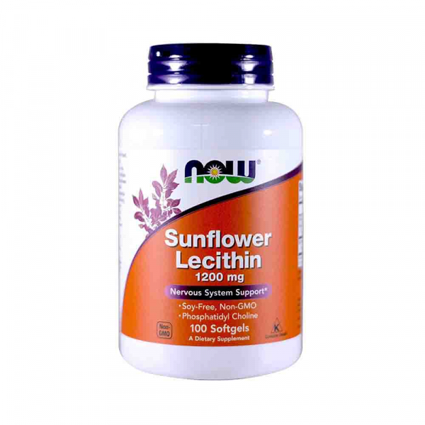 sunflower-lecithin-1200mg-now-foods [0]