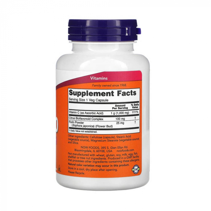 Now Foods, C-1000, 100 Tablets [4]