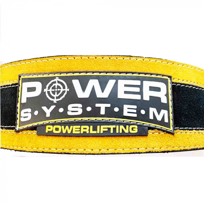 Centura de POWERLIFTING - STRONGLIFT cu Catarama, Power System, Cod: 3840 [4]