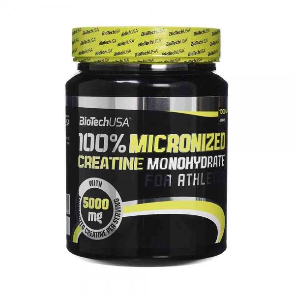 100% Creatina monohidrata, BioTech USA, 1000g [1]