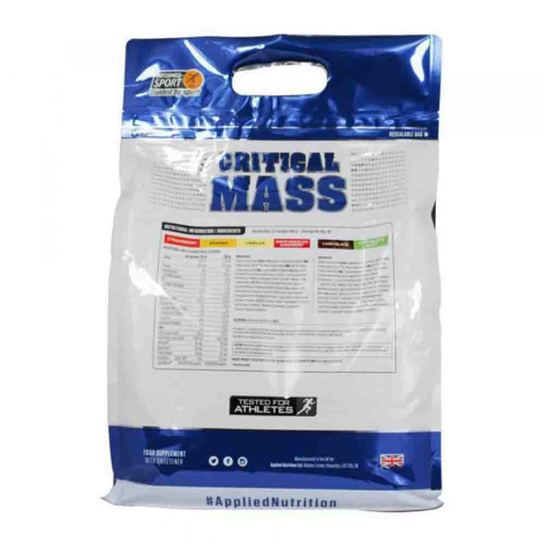 Critical Mass Gainer, Applied Nutrition [2]