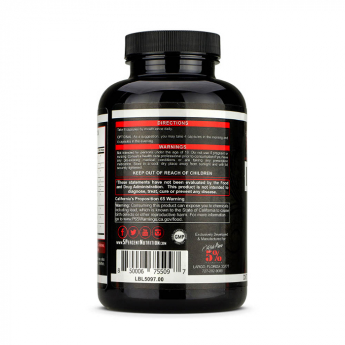 Joint Defender, Protectie articulatii, Rich Piana 5% Nutrition, 200 capsule [2]