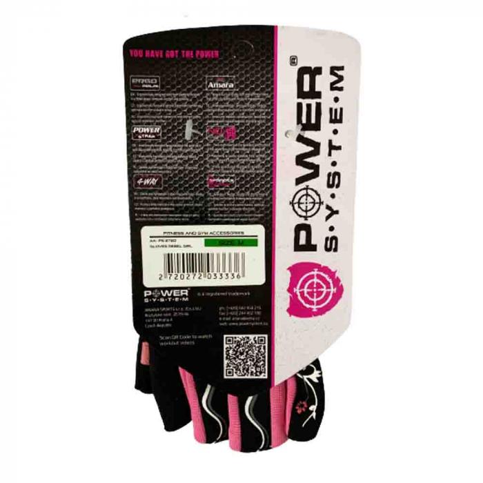 Manusi cu fasa elastica pentru Femei REBEL GIRL, Power System Cod: 2720 [1]