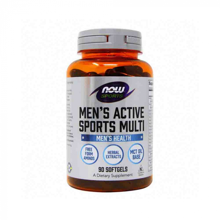 Now Foods, Sports, Men's Active Sports Multi, 180 Softgels [0]