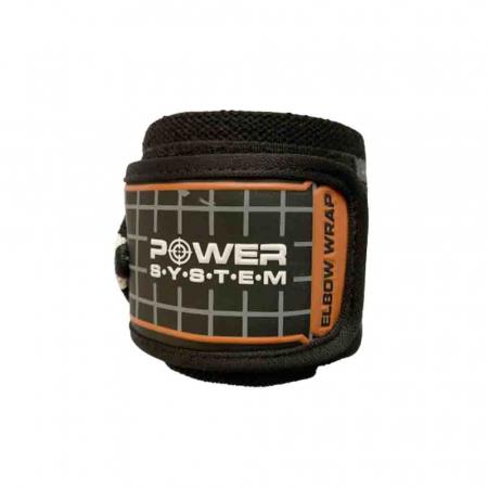 Bandaje pentru coate Elbow Wraps, Power System, Cod: 3600 [5]