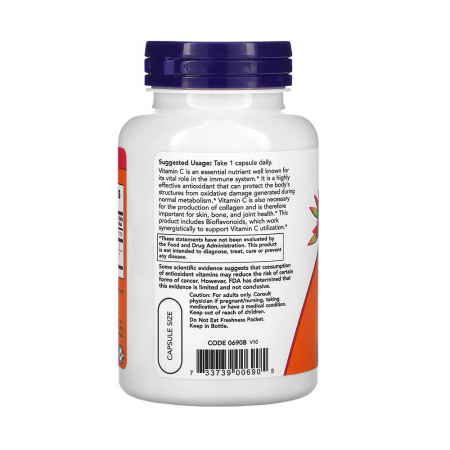 Now Foods, C-1000, 100 Tablets [3]