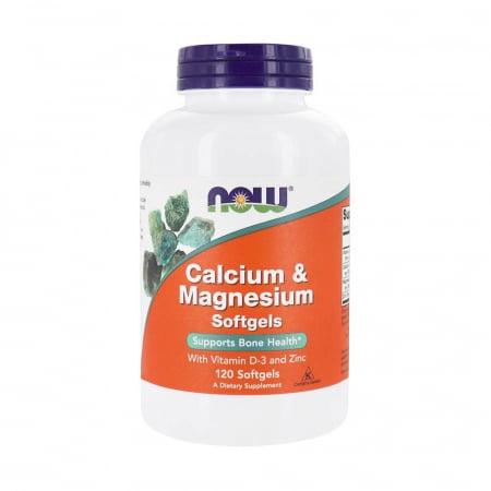 Calcium & Magnesium, with Vitamin D-3 and Zinc [0]