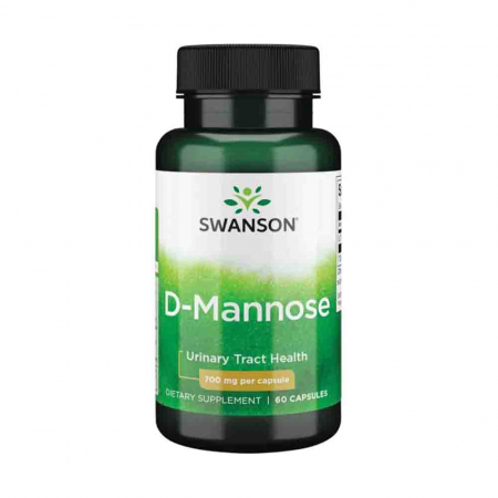 D-Mannose, 700mg, Swanson, 60 capsule SW1185