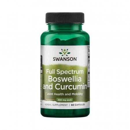 Full Spectrum Boswellia and Curcumin, Swanson, 60 capsule SW1320