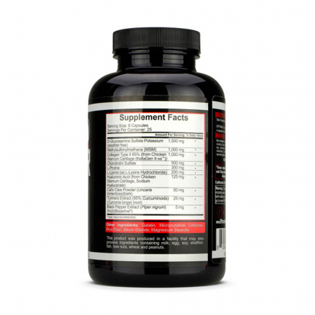Joint Defender, Protectie articulatii, Rich Piana 5% Nutrition, 200 capsule [1]