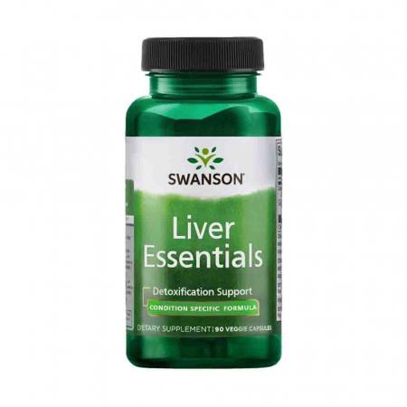 Liver Essentials (Esentiale Ficat), Swanson, 90 capsule SWC111