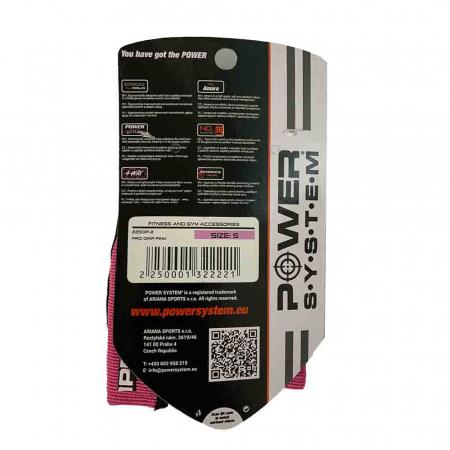Manusi Fitness pentru Femei PRO Grip, Power System Cod: 2250 [6]