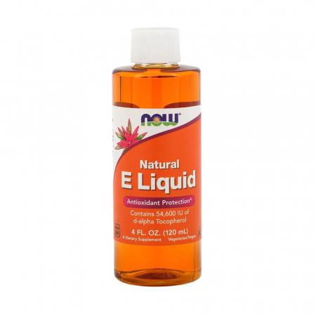 Vitamina E Lichida, 91 IU, Now Foods, 118ml