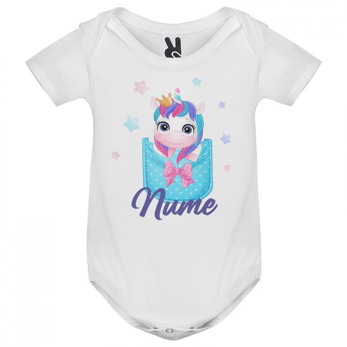 Body personalizat cu nume si unicorn [1]