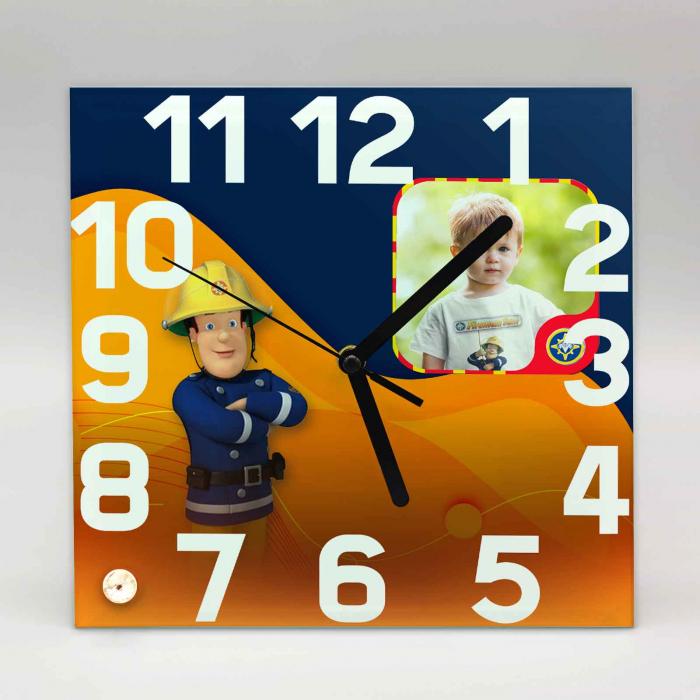 Ceas personalizat pompier cu o poza [0]