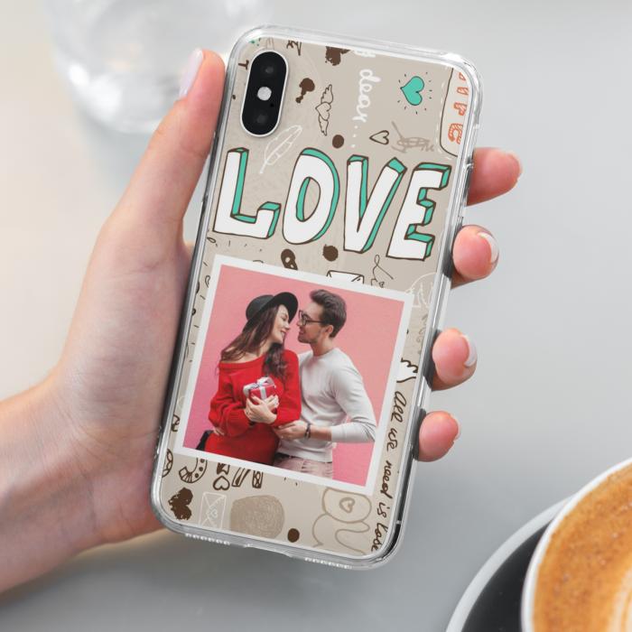 Husa Personalizata cu poza si model Love [0]