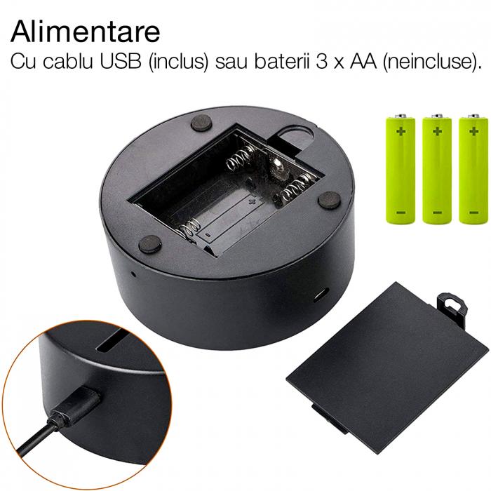 "Lampa 3D luminoasa personalizata ""Felicitari pentru absolvire"" [2]"