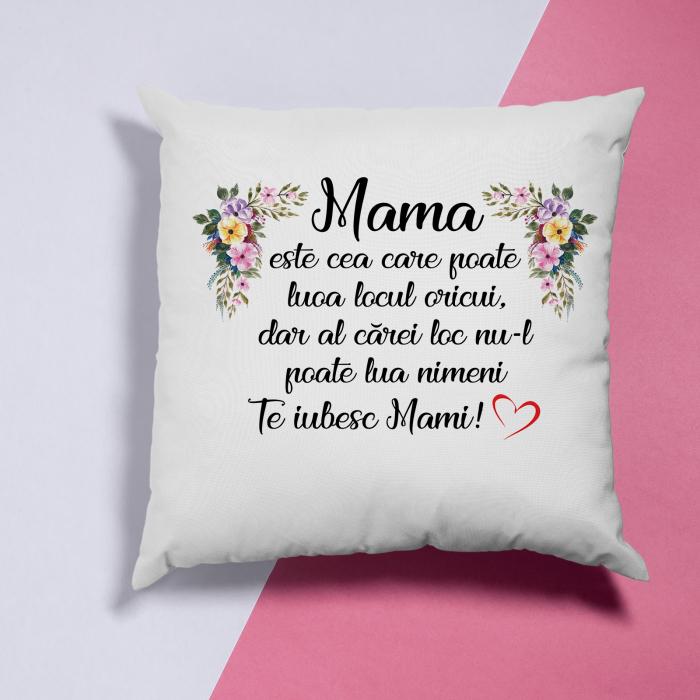 Perna cu text Mama este cea care poate lua locul oricui,dar al carei loc nu il poate lua nimeni [3]