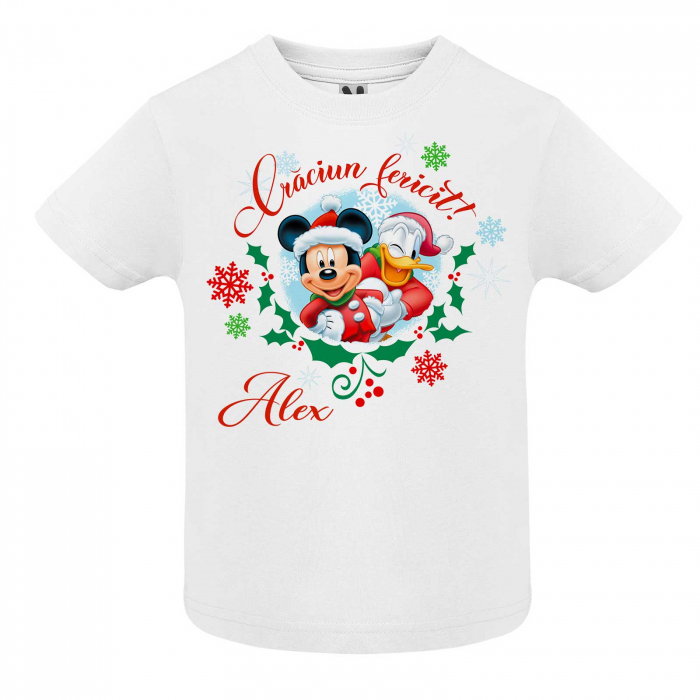 Set  3 tricouri personaliate Craciun fericit [2]