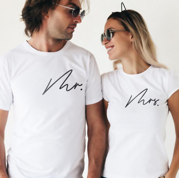 Set Tricouri Cuplu Mr.,Mrs [0]