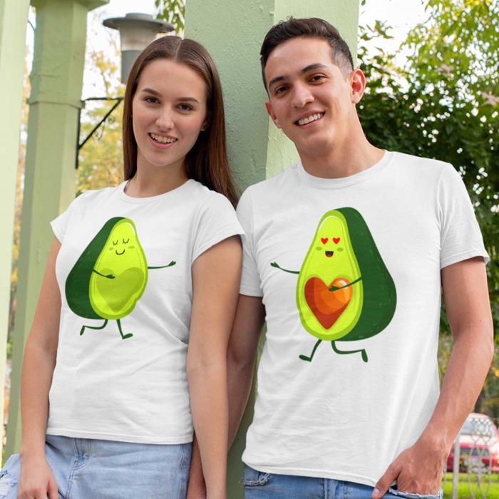 Set tricouri Cuplu Avocado [0]