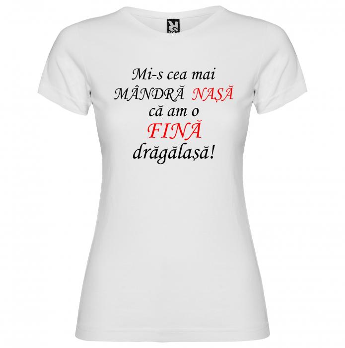 """Set tricouri """"Mi-s cea mai mandra nasa ca am o mandra dragalasa"""" [2]"""