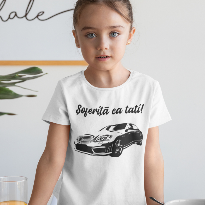 Tricou de copii Soferita ca tati [0]