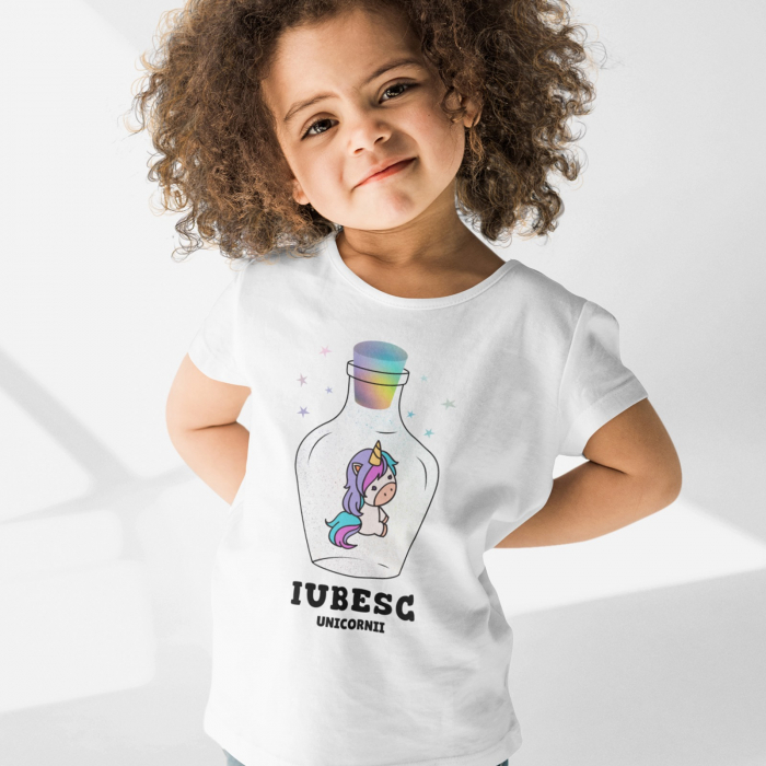 Tricou de copii Iubesc Unicornii [0]