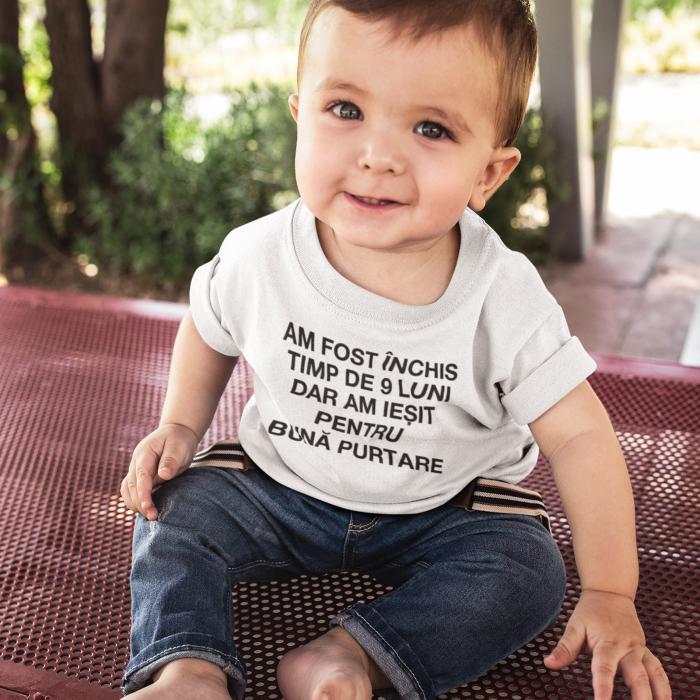 Tricou de copii am fost inchis timp de 9 luni dar... [0]
