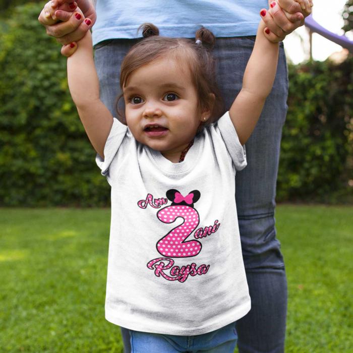Tricou de copii personalizat cu Varsta si Nume [0]