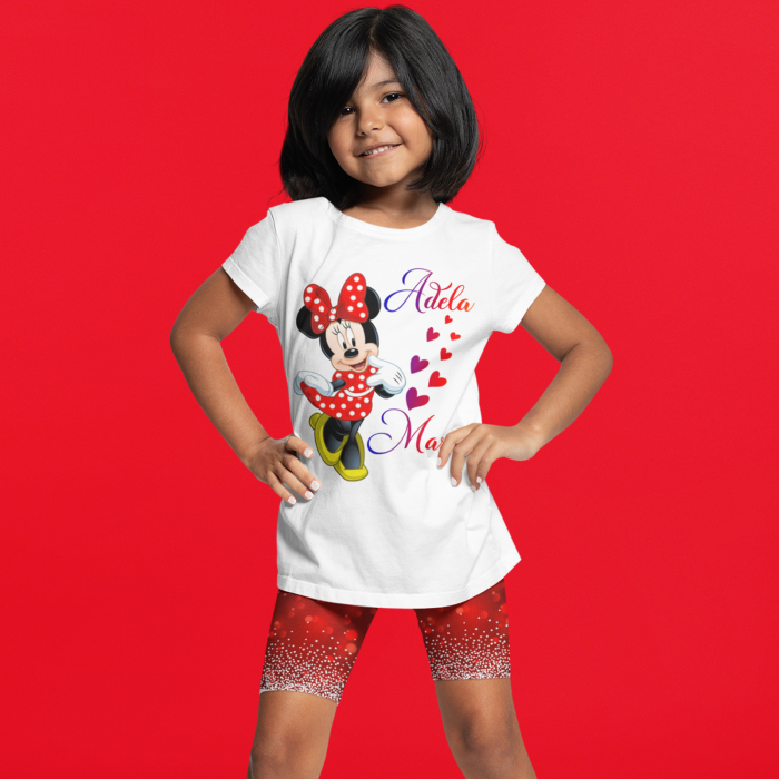 Tricou de copii personalizat cu Minnie [0]