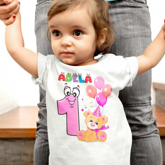 Tricou de copii personalizat cu Ursuletul Teddy [0]
