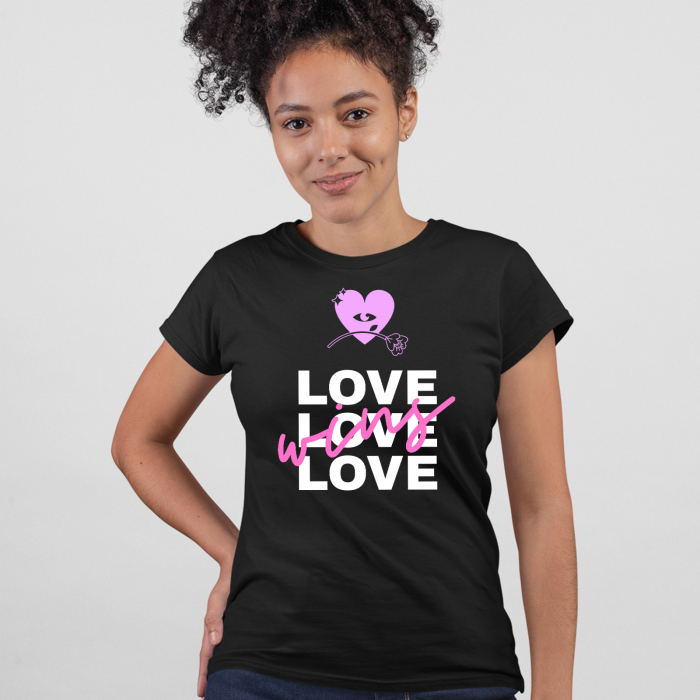 Tricou  Love wins [0]