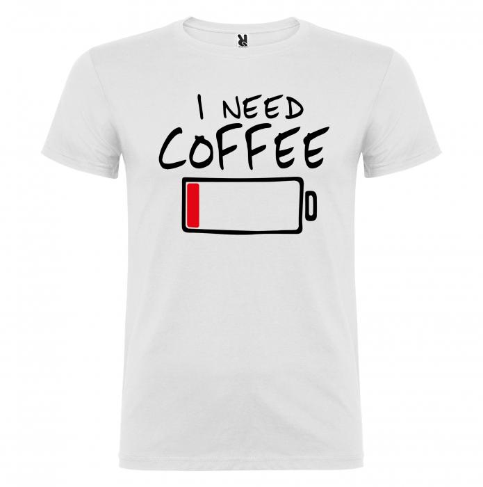 Tricou  I Need Coffee [3]