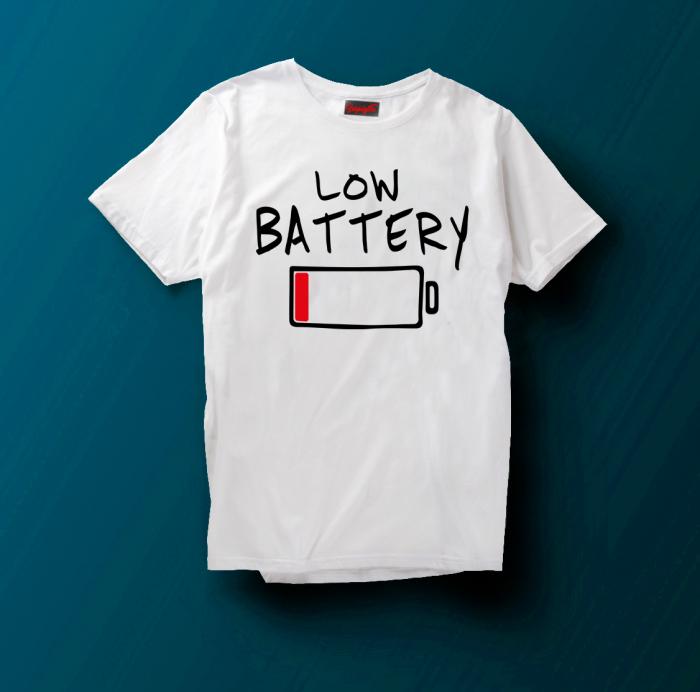 Tricou Low Battery [0]