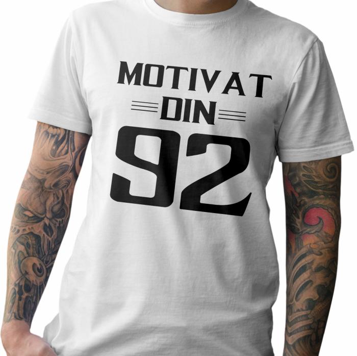 Tricou personalizat zi de nastere Motivat din .. [1]
