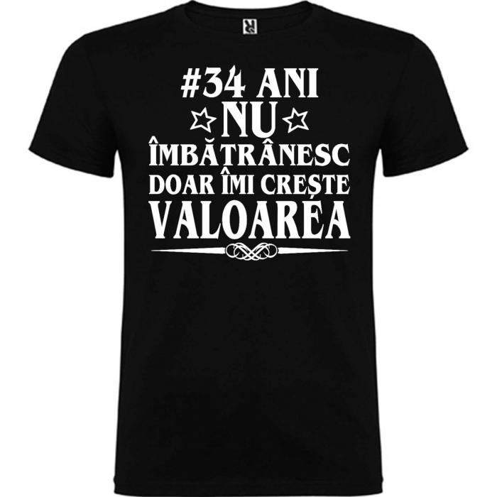 Tricou personalizat zi de nastere Nu imbatranesc doar imi creste valoarea [3]