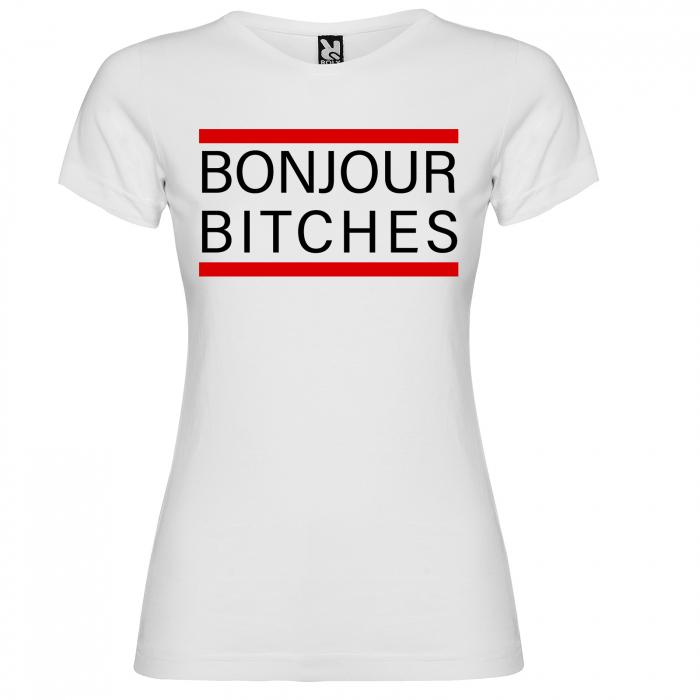Tricou BONJOUR BITCHES [2]