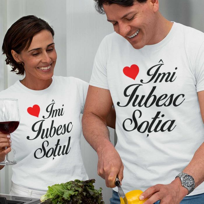 Tricouri personalizate pentru cupluri Imi iubesc Sotul/Sotia [0]
